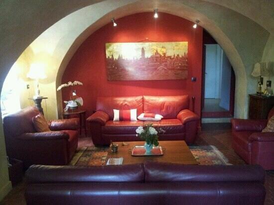Saint-Pantaleon-les-Vignes, Francia: Salon voute