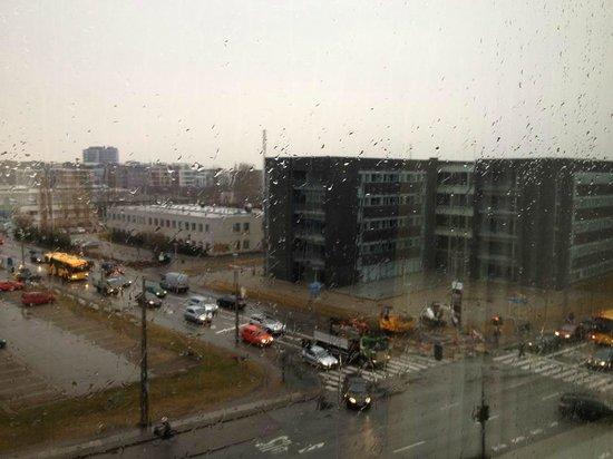 Scandic Sluseholmen: Den triste udsigt fra mit værelse