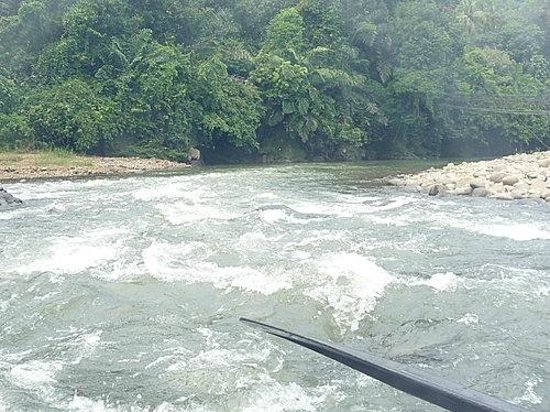 Kiulu River : one of the few exciting point