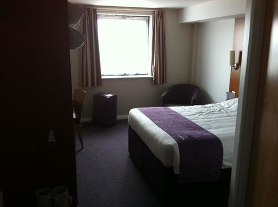 Premier Inn Belfast City Centre (Alfred Street) Hotel: Room 714