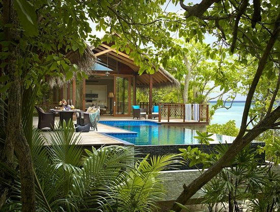 Shangri-La's Villingili Resort and Spa Maldives: Tree house villa