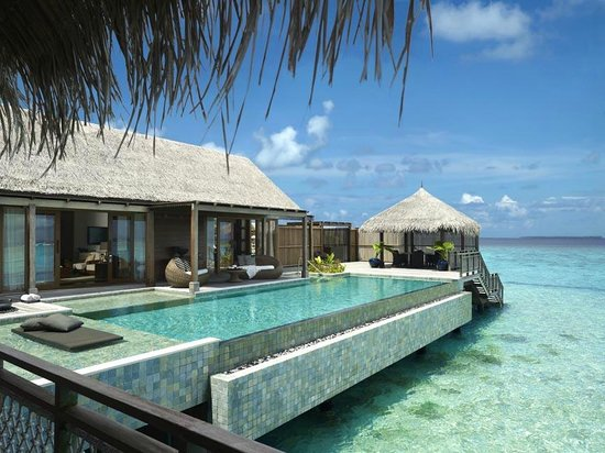 Shangri-La's Villingili Resort and Spa Maldives: Presidential Villa