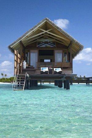 Shangri-La's Villingili Resort and Spa Maldives: Water Villa
