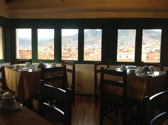 Hostal Corihuasi: breakfast room