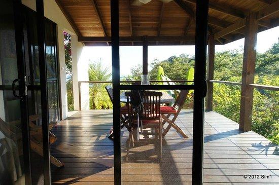 Casa Frangipani : Terass