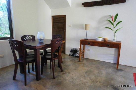 Casa Frangipani: Diner area