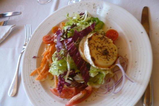Meson Can Paco : Salat mit Ziegenkäse