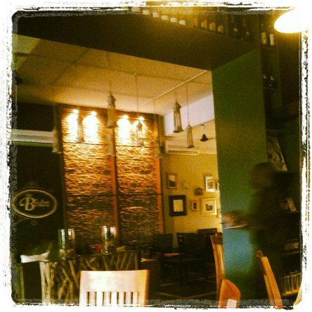 The Bistro: some of the decor