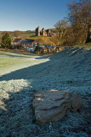 Holmhead Guest House: Holmhead on a frosty morning