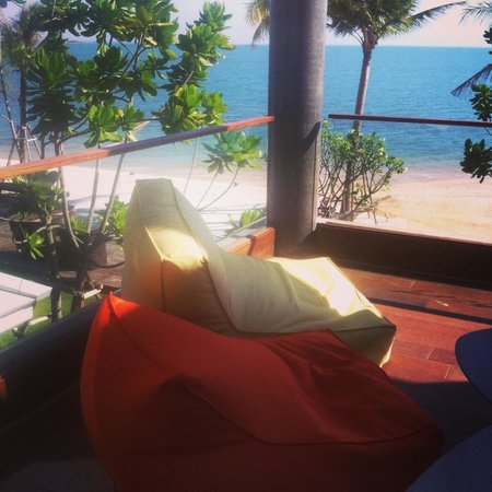 Na Tara Resort: Chillaxing in my room and i do love the view
