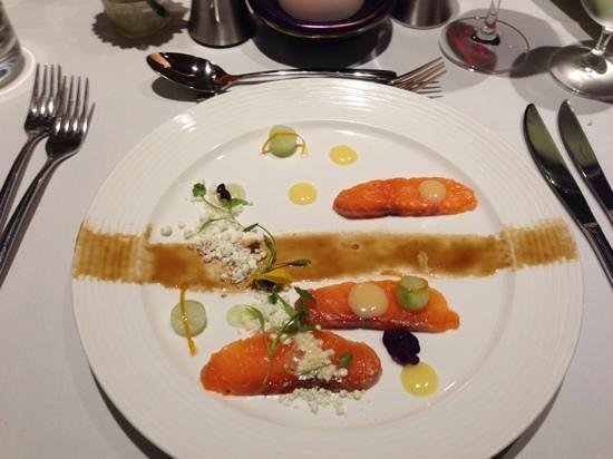 The Spa Hotel at Ribby Hall Village: salmon starter