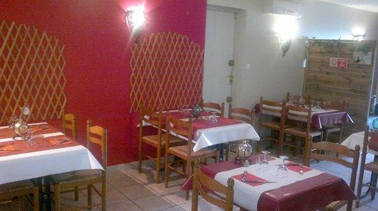 Le Marcelin : salle du restaurant