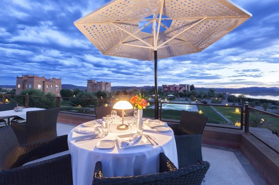 Hotel Sultana Royal Golf: Terrasse Restaurant