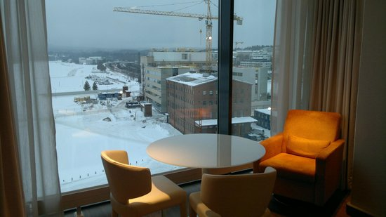 Solo Sokos Hotel Paviljonki: View to south