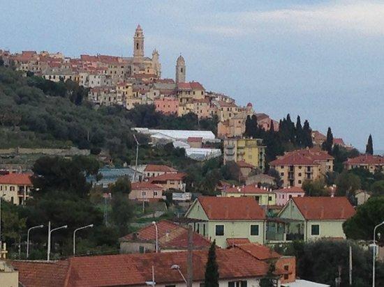 Questa è la vista dal balcone dell'hotel Bellavista....
