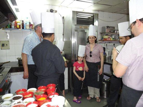 شانتي هوم: Cooking course March 2
