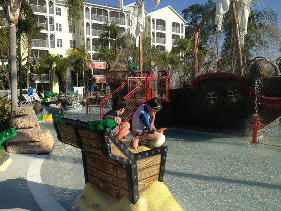 Marriott's Harbour Lake: pool #1 play