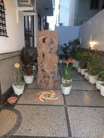 شانتي هوم: Entrance to Shanti Home