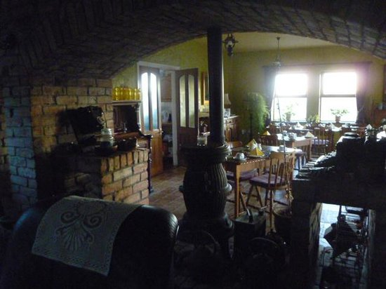 Cappabhaile House: breakfast room