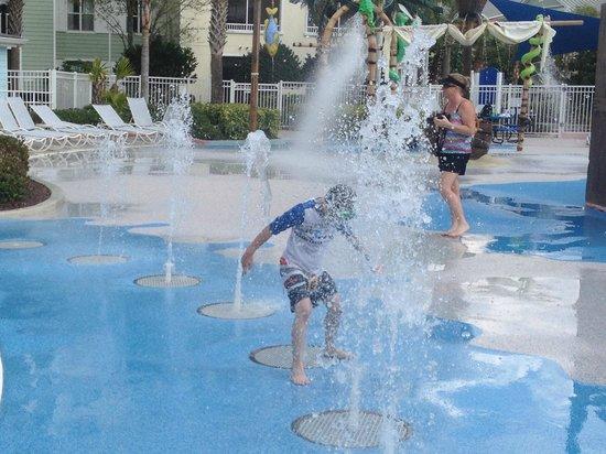 Marriott's Harbour Lake: pool #2 play