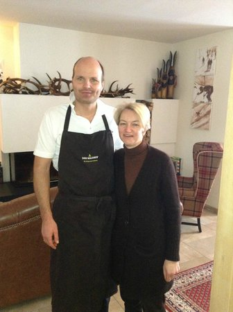Der Waldhof: Owners Michael and Andrea