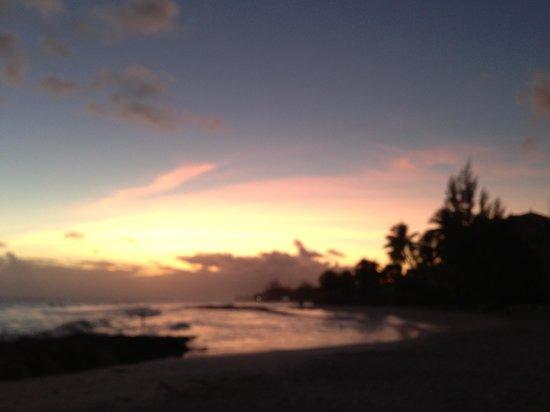 Ocean Two Resort & Residences: Pretty sunset