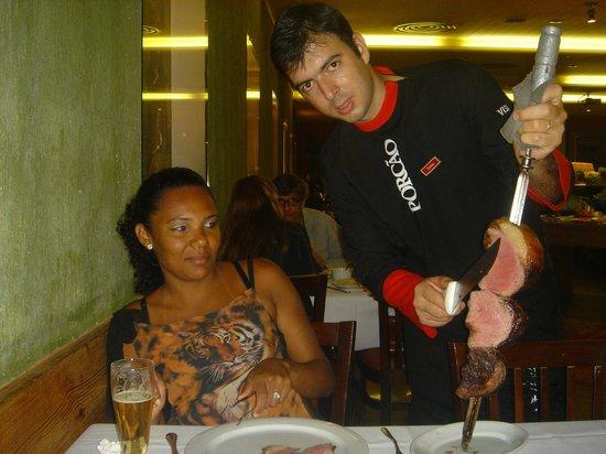 Porcao Rio's: picanha que delicia.