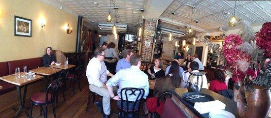 Inside Cafe Katja