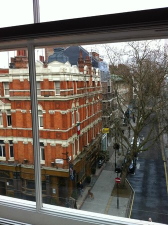 Charlotte Street Hotel: view from window