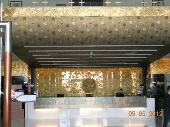 Golden Flower: Front desk