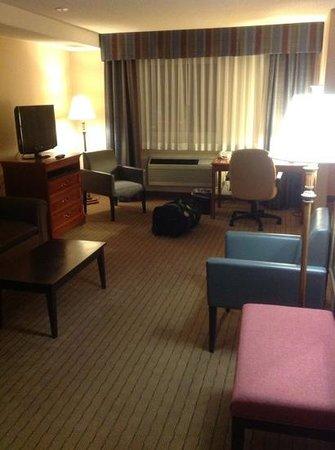 Holiday Inn Hinton: large room