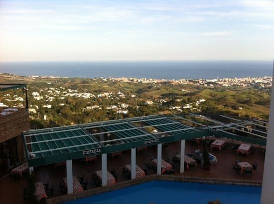TRH Mijas: view from hotel