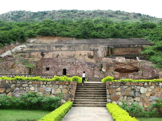 Rajgir, India: swarn bhandar it means tresuary of gold