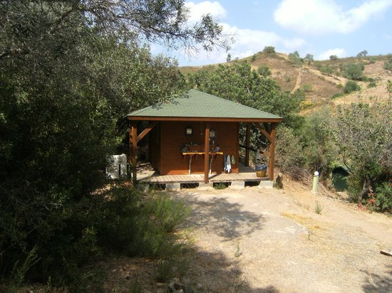 Monte Mariposa: one of the cabanas