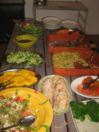 Monte Mariposa: lunch ... yummy!