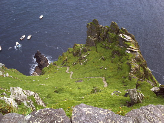 The Skellig Experience : long way up