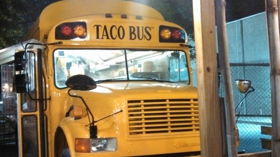 Taco Bus : Fun place to visit and have a meal!