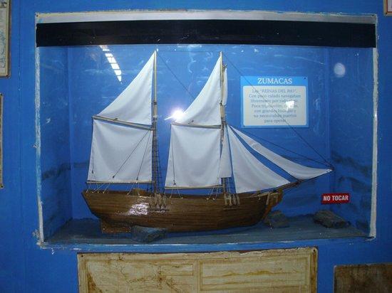 Museo de los Naufragios y Tesoros: replicas pequeñas