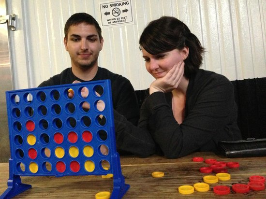 Green Room Brewing: Connect 4!