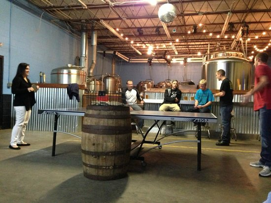 Green Room Brewing: Brewery