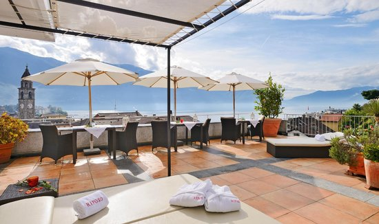 Art Hotel Riposo: terrazza