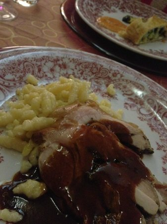 Hotel Lyskamm : Dinner