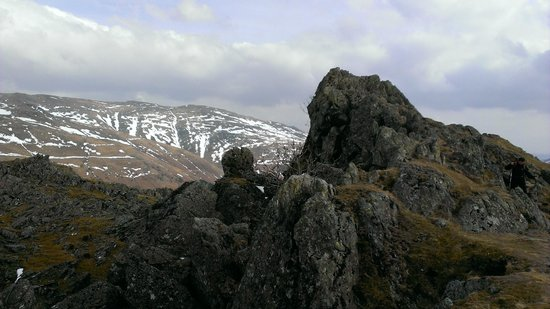 Helm Crag: lion and the lamb