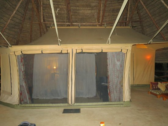 Mara Timbo Camp: Tent entrance from Terrace