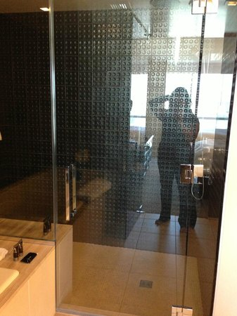 Hard Rock Hotel and Casino: Sit down rain shower