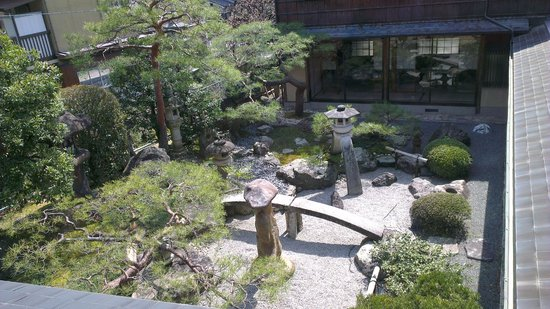 Ryokan Yamazaki: beautiful garden