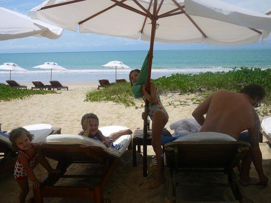 Villas de Trancoso Hotel: Playa del hotel