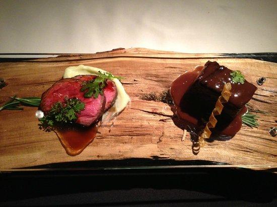 Tru: Steak Dish