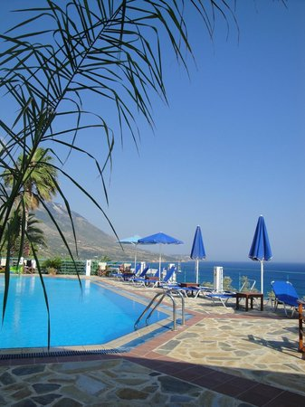 Villa Rosa Pool Area