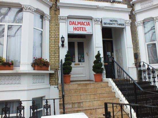Dalmacia Hotel: facciata